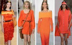 Fashion Forward: The Orange Dress For Spring 2016