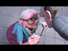 This 'Give In To Giving' film is about how dedicating your time to help someone can make a big difference through a positive chain reaction. Caleb Y Sofia, Pixar Shorts, Animation 3d, World Kindness Day, Movie Talk, Films Cinema, Street Musician, Volunteer Programs, Film D'animation