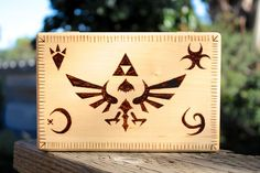 Wood burning would be super cool and the burning sets are under 10 dollars sometimes.