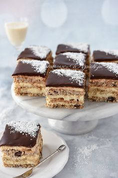 Polish Recipes, Chocolate Cake, Sweet Recipes, Ale, Deserts, Food And Drink, Cooking Recipes, Yummy Food, Sweets