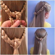 10 Peinados sencillos para niñas que incluso los papás podrán hacer