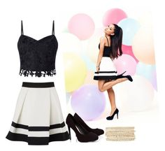 """""""lipsy"""" by xoxogosipgirlxoxo ❤ liked on Polyvore featuring Lipsy and Charlotte Russe"""