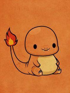 Pokemon - Charmander by ~beyx on deviantart