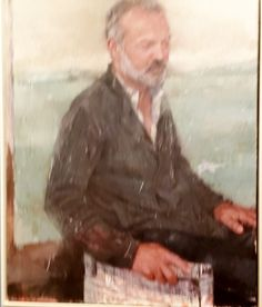 Acquired this Bootleg Photo of a Portrait of Graham Norton from the National Gallery of Ireland - Photographer Unknown.