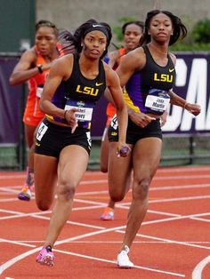 LSU womens track and field team makes strides at national meet Track Team, Lsu Track And Field, Track Workout, Boxing Workout, Long Jump, Female Athletes, Women Athletes, Thing 1, Strength Workout