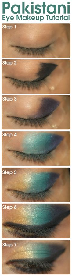 So, here I am with an exclusive Pakistani eye makeup tutorial just for you. Read on to learn the step by step process of doing this eye makeup.