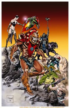 Masters of the Universe by ~Aldagon on deviantART