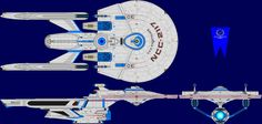 """The Schmidt Class Tug is a TMP era design by David John Schmidt for the fan publication """"Starfleet Prototype"""""""