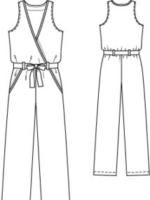 Комбинезон без рукавов Fashion Flats, Fashion Outfits, Drawing Anime Clothes, Pants Pattern, Anime Outfits, Couture, Fitness Inspiration, Overalls, Sewing Patterns