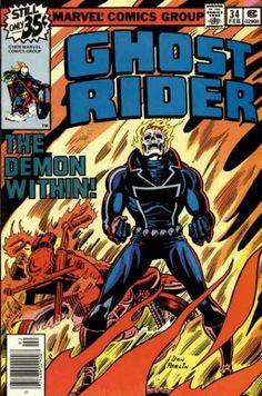 ghost rider art gallery   Ghost Rider #34 via   buy on eBay   add