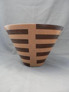 Wooden vase, segmented woodturning, ,home decor, unique