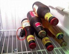 réfrigérateur classement bouteille