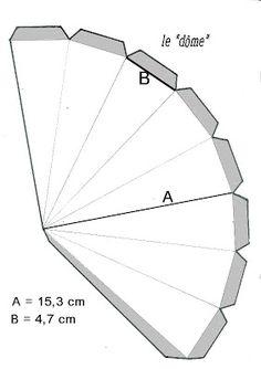[C]lean [M]ag: Gabarits du sapin de l'Avent avec mesures