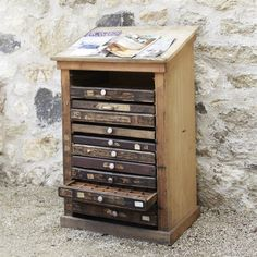 want it. - Vintage Typography Chest