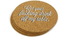 Incredibly Rude Coasters 4-Pack