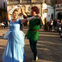 """Cenerentola & Peter Pan.  Musical """" La notte dei sogni"""" di Que LocuRa"""