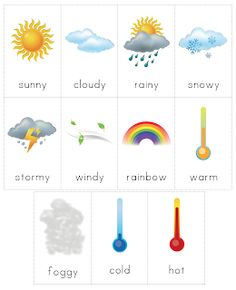 The Helpful Garden: Circle Time, Weather Cards and Weather Chart for the… Preschool Science, Preschool Classroom, Preschool Learning, Learning Activities, Teaching Weather, Weather Activities, Preschool Weather Chart, Weather Kindergarten, Weather Experiments