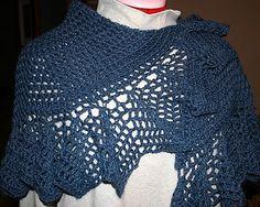Madeleine's Vintage Shawl By Elisa Purnell - Free Crochet Pattern - (yarn-tails.blogspot)
