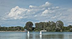 Jedrenje na Glavnom jezeru.