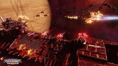 Battlefleet Gothic: Armada is the RTS adaptation for PC of Games Workshop's tabletop game, staging the deadly space battles of Warhammer Background Images Wallpapers, Wallpaper Backgrounds, Battlefleet Gothic Armada, Tau Empire, Space Battles, Warhammer 40k Art, Game Workshop, More Wallpaper, Environment Design