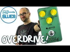 JOYO JF-01 Vintage Overdrive Guitar Effect Pedal Overdrive