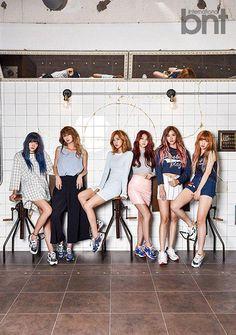 Hello Venus model for BNT - Latest K-pop News - K-pop News   Daily K Pop News