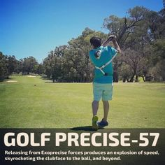 Official site of the groundbreaking Exoprecise ℗® golf swing trainer, Golf Play golf smarter, faster, stronger; for longer. Golf Swing Speed, Golf Trainers, Swing Trainer, Golf Cart Accessories, Muscle Memory, Golf Party, Ladies Golf, Women Golf, Golf Exercises