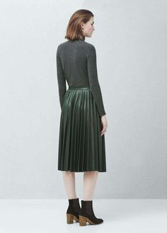 79ed4e08f50 Mango Pleated Midi Skirt Size Uk 8 rrp 50 LS171 OO 19  fashion  clothing