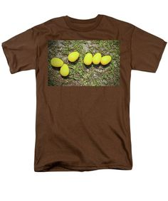 Color Men's T-Shirt (Regular Fit) featuring the photograph Yellow Eggs by Cynthia Guinn