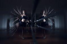 The art of repetition: Omaggio a #GjonMili. www.facebook.com/danielegallifotografo #dance #light #multiplexsposure #photography #AnonimaOpifici