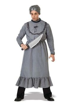 Psycho Bates Grandma #Halloween #Costumes at DelightsVille.net