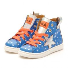 Stadtlandkind - Turnschuh Magic Stars Electric Blue #maashoes #sneakers #stars