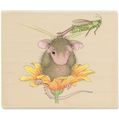 Bug Off (June 2012) - House-Mouse Designs rubber stamps