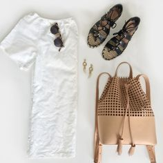 Sweet and chic in the perfect outfit to take you from poolside in Palm Springs to dancing to the music at Coachella.  Get all the outfit details on the ShopStyle blog and see what we're packing for festival season.