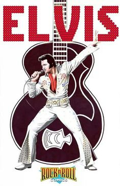 """Read """"Rock and Roll Comics: Elvis Presley Experience"""" by Patrick McCray available from Rakuten Kobo. For the first time ever, one of Rock 'N' Roll Comics most acclaimed series is collected and back in print! The Elvis Pre. Elvis Presley Posters, Elvis Presley Photos, Elvis Presley Wallpaper, Rock Posters, Band Posters, Rock And Roll, Rare Pictures, Graceland, Rock Music"""