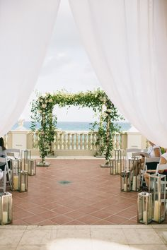 Modern lanterns: http://www.stylemepretty.com/2015/06/27/wedding-decor-to-up-your-aisle-style/