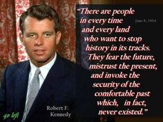 Yes. Definitely ahead of his time. Bobby is obviously talking about Republicans.
