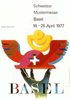 Ferdi Afflerbach, Schweizer Mustermesse Basel, 1977