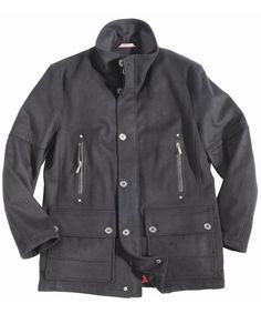 Mens Barbour Stanton Wool Jacket