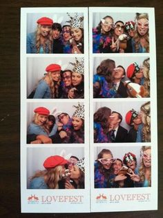 Shay and Shelby in the photobooth