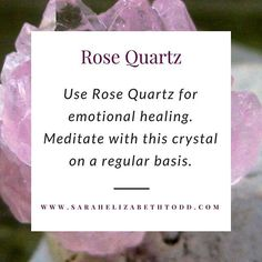 Meditate with Rose Quartz for emotional healing. #crystals #crystalhealing #raiseyourvibration #vibratehigher #chakras #loveandlight #consciousness #starseed #selfcare #selflove #rosequartz