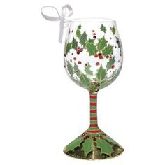 Holly Mini Wine Glass