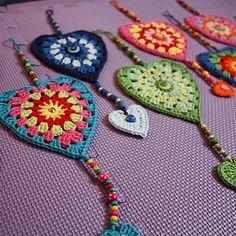 Transcendent Crochet a Solid Granny Square Ideas. Inconceivable Crochet a Solid Granny Square Ideas. Crochet Squares, Crochet Bunting, Crochet Granny, Crochet Motif, Crochet Flowers, Crochet Stitches, Crochet Patterns, Crochet Hearts, Granny Squares