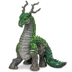 This is the Jungle Dragon Fantasy Figure that's produced by the neat folks over at Safari Ltd. The Jungle Dragon figure is well detailed and hand painted. He's roughly 5 inches long and 4 inches tall. Alien Creatures, Fantasy Creatures, Mythical Creatures, Mystical Animals, Fantasy Figures, Sculpture Art, Clay Sculptures, Creature Feature, Pet Toys