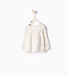 Large embroidered blouse-Shirts-Baby girl | 3 months - 3 years-KIDS | ZARA United States