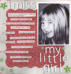 I Miss My Little Girl : Gallery : A Cherry On Top