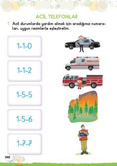 1. Sınıf Konu Anlatım EV ÇALIŞMALARI Book Corners, Preschool Education, First Grade, Montessori, Police, Student, Books, Kids, Activities