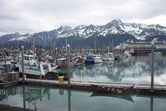 Seward Alaska - the perfect place to experience the Alaska mariner lifestyle - beautiful!