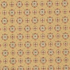 Vintage Wallpaper Pattern on Brown Background | 1950s Vintage Antique Wallpaperhttp://www.designyourwall.com/