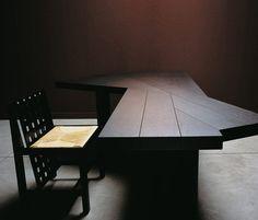 cassina, ventaglio table by Charlotte Perriand